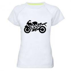 Женская спортивная футболка MOTO SPORT - FatLine