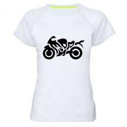 Жіноча спортивна футболка MOTO SPORT - FatLine