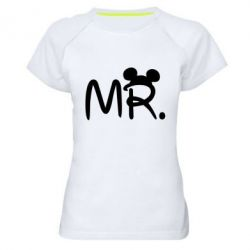 Женская спортивная футболка Mr. - FatLine