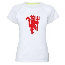 Жіноча спортивна футболка MU