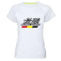 Женская спортивная футболка Mugen Power - FatLine