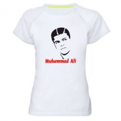 Женская спортивная футболка Muhammad Ali - FatLine