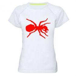 Женская спортивная футболка Муравей