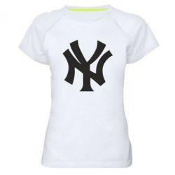 Жіноча спортивна футболка New York yankees - FatLine