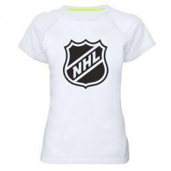 Женская спортивная футболка NHL - FatLine