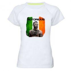 Женская спортивная футболка Notorious - FatLine