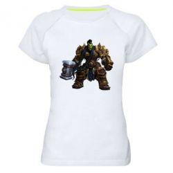 Женская спортивная футболка Orc - FatLine