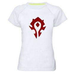 Женская спортивная футболка Орда - FatLine