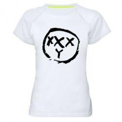 Женская спортивная футболка Oxxxy - FatLine