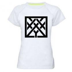Женская спортивная футболка Oxxxymiron - FatLine