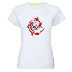 Женская спортивная футболка Parkour Logo - FatLine