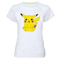 Женская спортивная футболка Pika - FatLine