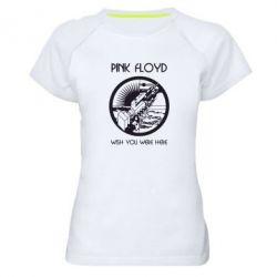 Женская спортивная футболка Pink Floyd Wish You - FatLine