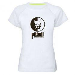 Женская спортивная футболка Pitbull Syndicate - FatLine