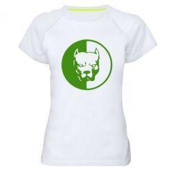 Женская спортивная футболка Pitbull - FatLine