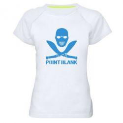 Женская спортивная футболка Point Blank - FatLine