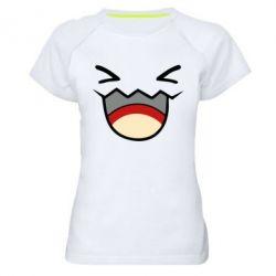 Женская спортивная футболка Pokemon Smiling - FatLine
