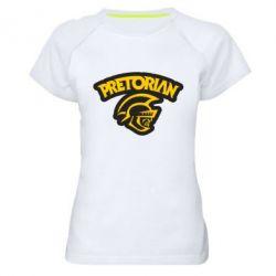 Женская спортивная футболка Pretorian - FatLine