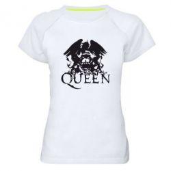 Женская спортивная футболка Queen - FatLine