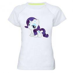 Жіноча спортивна футболка Rarity small