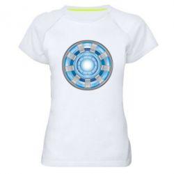 Женская спортивная футболка Реактор Тони Старка - FatLine