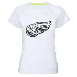 Женская спортивная футболка Red Wings - FatLine