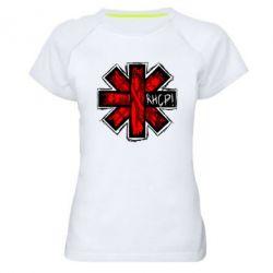 Женская спортивная футболка RHCP sublim - FatLine