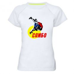 Женская спортивная футболка Sambo
