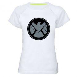Женская спортивная футболка Щ.И.Т.
