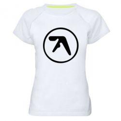 Женская спортивная футболка selected ambient works - FatLine