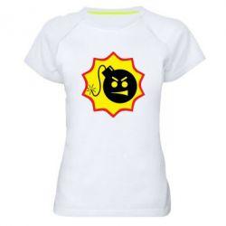 Женская спортивная футболка Serious Sam - FatLine