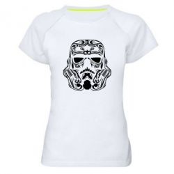 Женская спортивная футболка Штурмовик Арт - FatLine