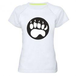 Жіноча спортивна футболка слід - FatLine