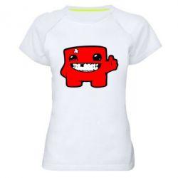 Жіноча спортивна футболка Smile!