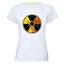 Женская спортивная футболка Stalker Danger