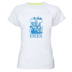 Женская спортивная футболка Stalker Logo - FatLine