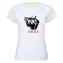 Женская спортивная футболка Stalker - FatLine