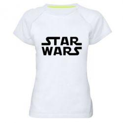 Женская спортивная футболка STAR WARS - FatLine