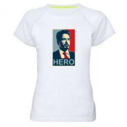 Женская спортивная футболка Stark Hero