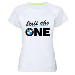 Женская спортивная футболка Still the one - FatLine