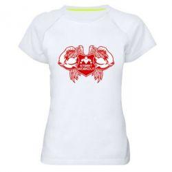 Жіноча спортивна футболка Street Workout Крила - FatLine