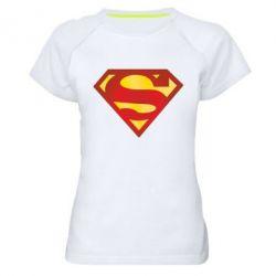 Женская спортивная футболка Superman Classic - FatLine