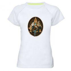 Женская спортивная футболка Сверхъестественное Арт - FatLine