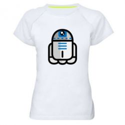 Женская спортивная футболка Sweet R2D2 - FatLine