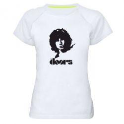 Женская спортивная футболка The Doors - FatLine