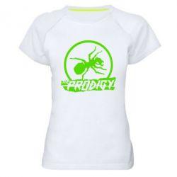 Женская спортивная футболка The Prodigy муравей - FatLine