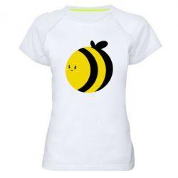Жіноча спортивна футболка товста бджілка