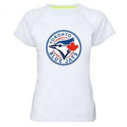 Женская спортивная футболка Toronto Blue Jays - FatLine