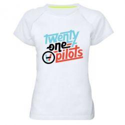 Жіноча спортивна футболка TWENTY ØNE PILØTS