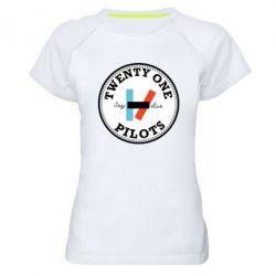 Жіноча спортивна футболка Twenty One Pilots Stay Alive